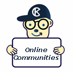 Online Communities Mascot