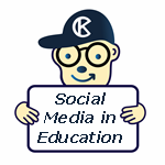 Social Media in Education Mascot