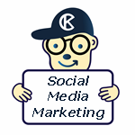 Social Media Marketing Mascot