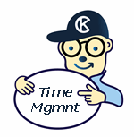 Time Management Mascot