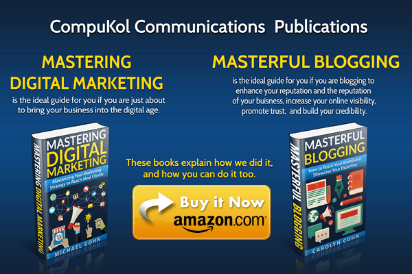 CompuKol Communications Publications on Amazon