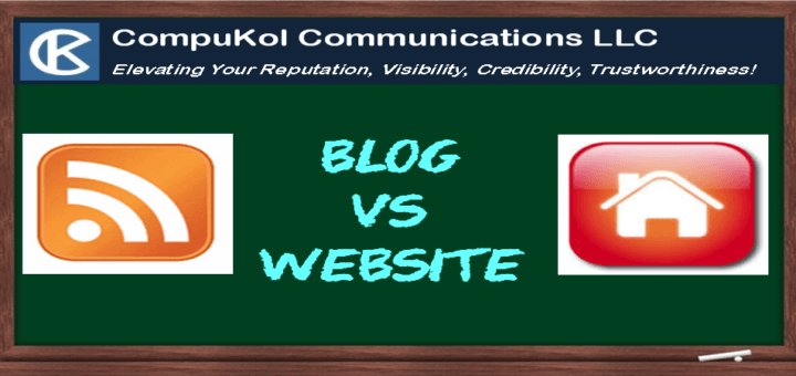 Blog vs Website: What's the Difference?