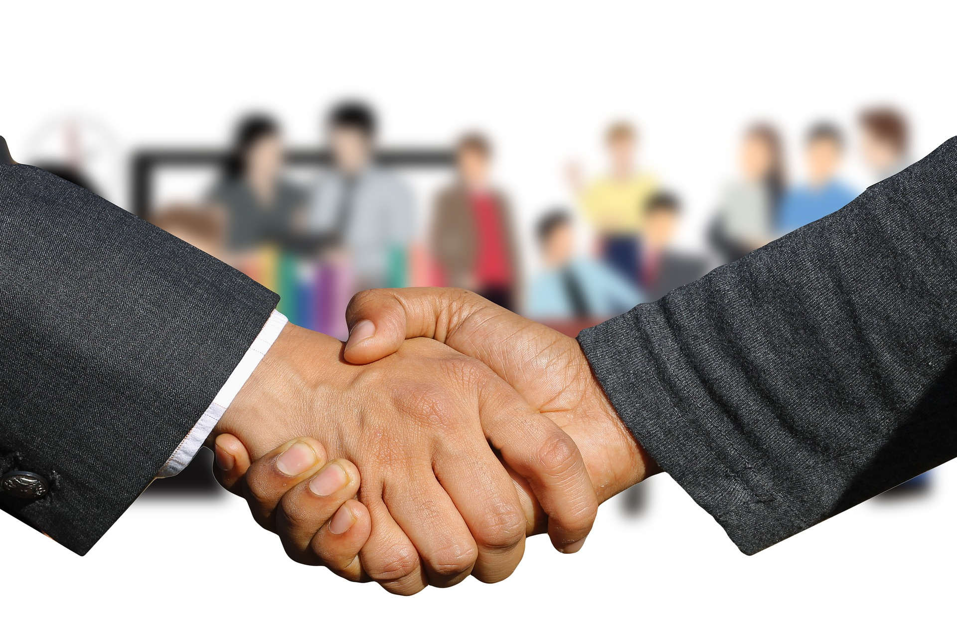 Networking - Shaking Hands